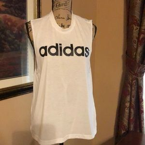 Women's adidas top, size large